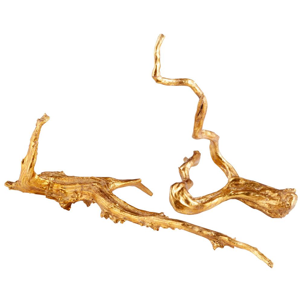 Cyan Designs - Large Drifting Gold Sculpture