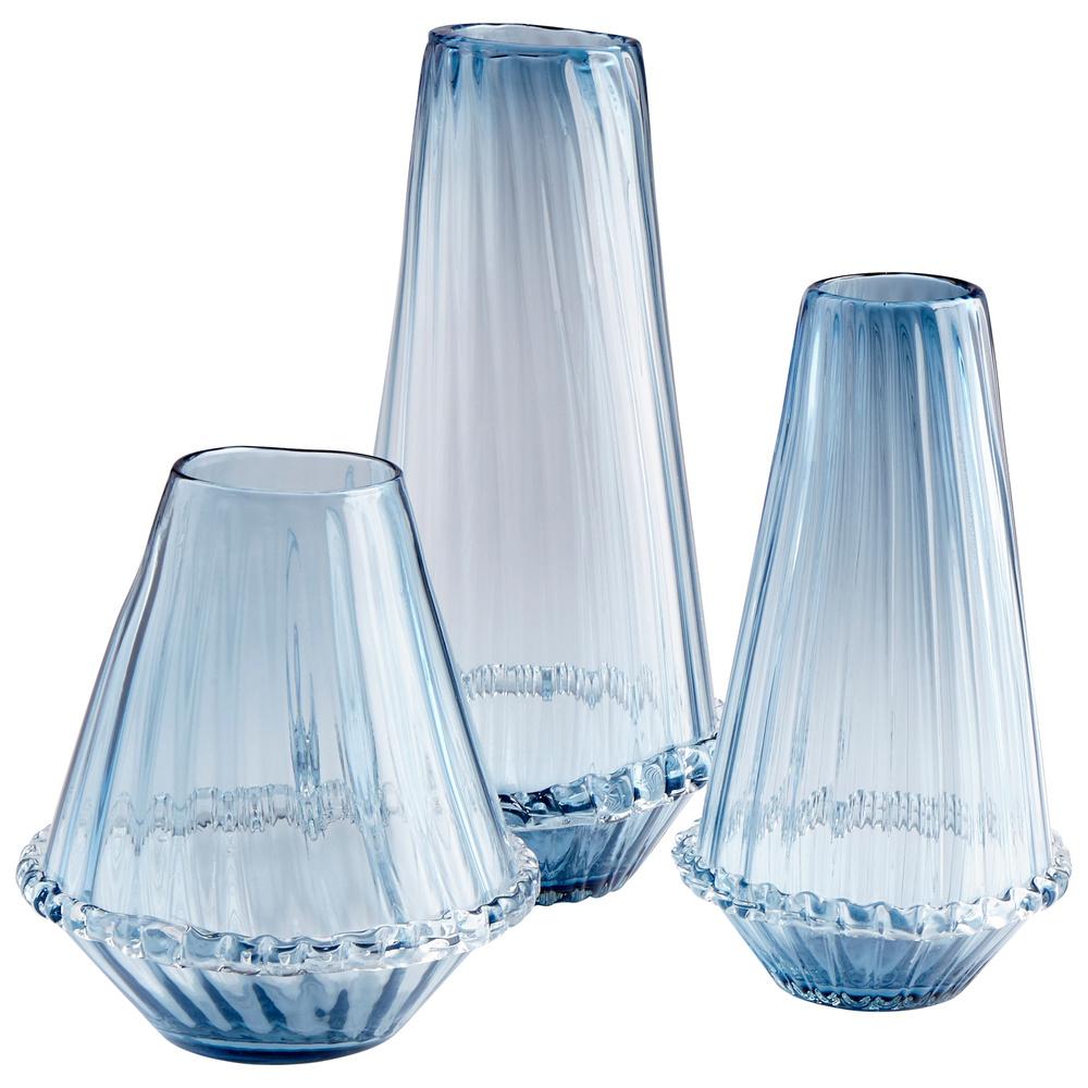 Cyan Designs - Small Blue Persuasio Vase