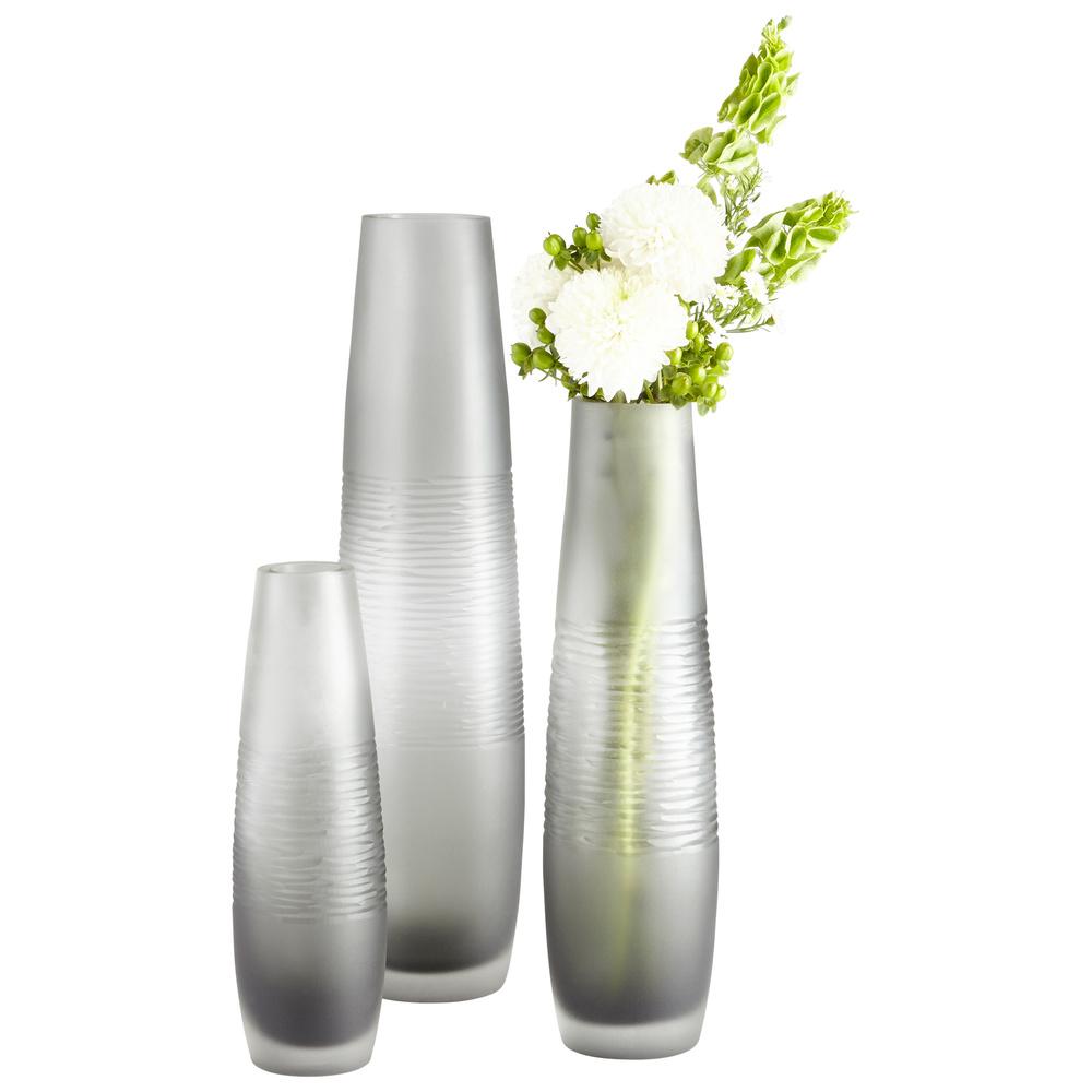 Cyan Designs - Medium Banded Smoke Vase