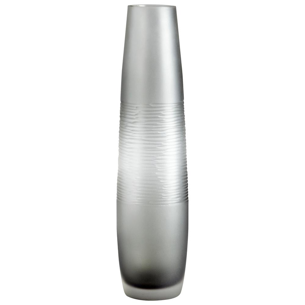 Cyan Designs - Large Banded Smoke Vase