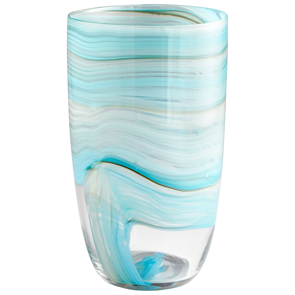 Cyan Designs - Large Sky Swirl Vase