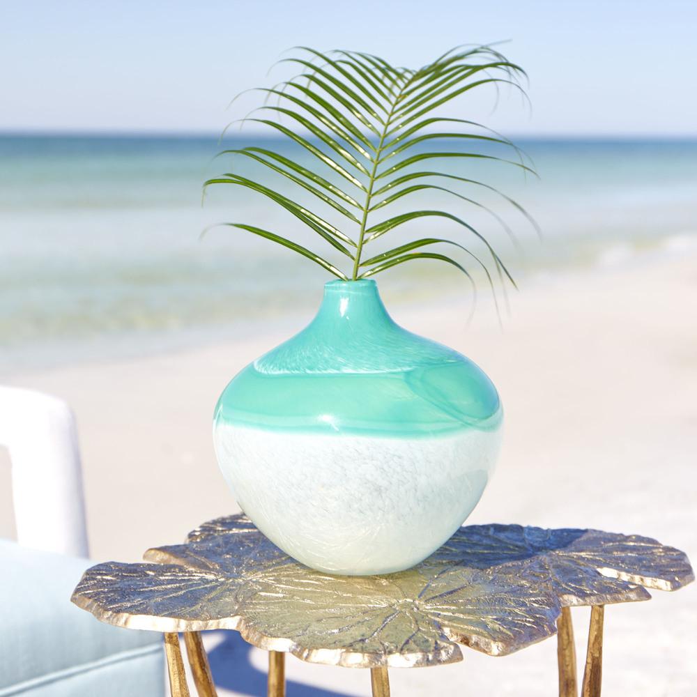 Cyan Designs - Medium Iced Marble Vase