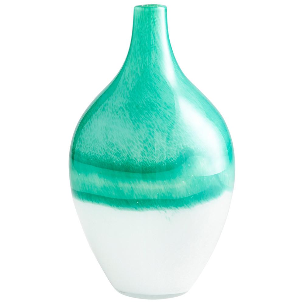 Cyan Designs - Large Iced Marble Vase