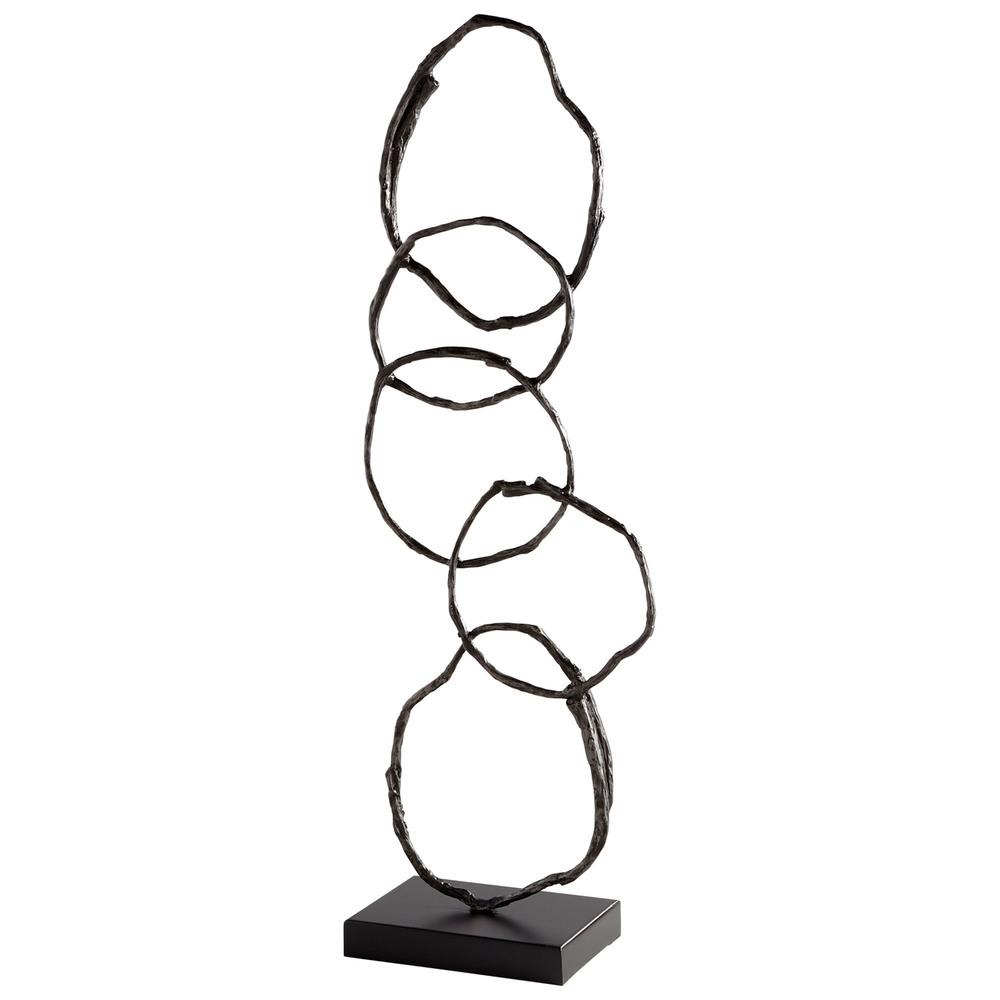 Cyan Designs - Inner Circles Sculpture