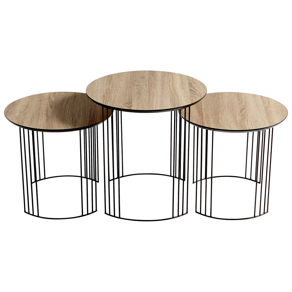 Cyan Designs - Electric Moon Nesting Tables
