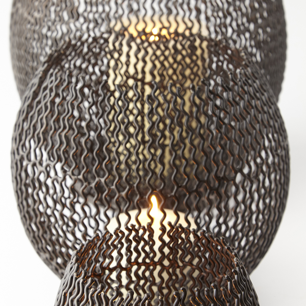 Cyan Designs - Medium Ecliptic Candleholder