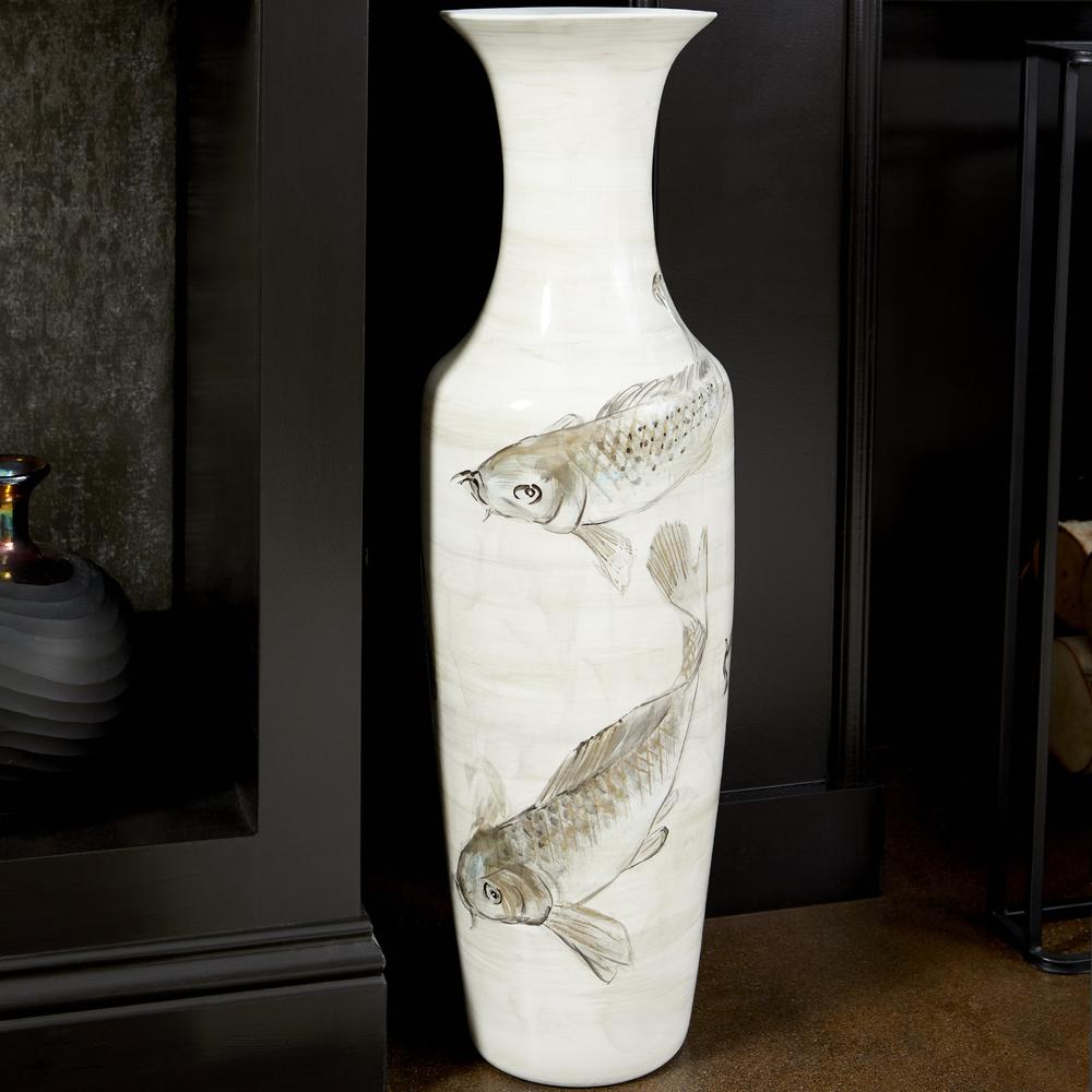 Cyan Designs - Playing Koi Vase