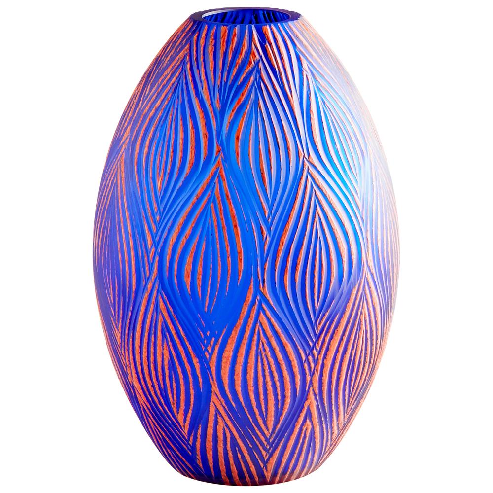 Cyan Designs - Large Fused Groove Vase