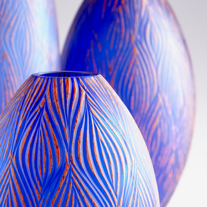 Thumbnail of Cyan Designs - Large Fused Groove Vase