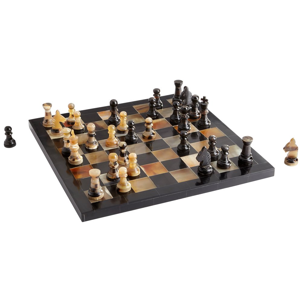 Cyan Designs - Checkmate Chess Board