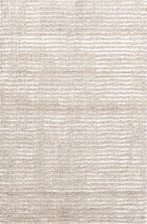 Thumbnail of Dash & Albert Rug Company - Cut Stripe Ivory Viscose Rug 8x10