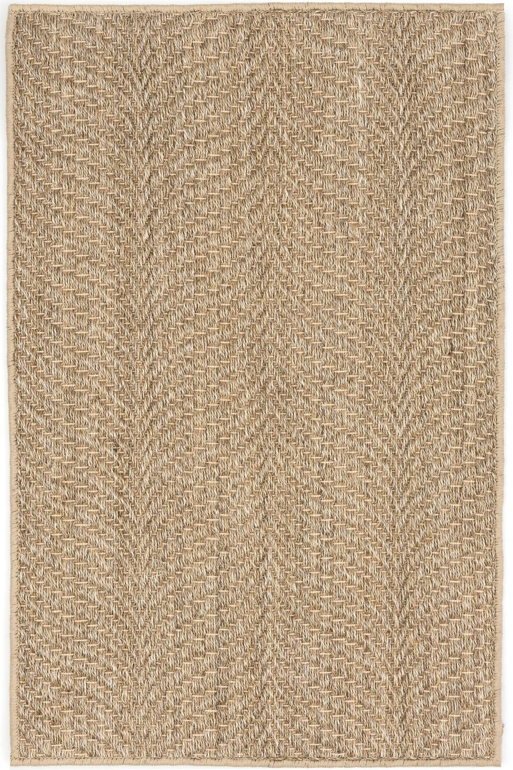 Dash & Albert Rug Company - Wave Natural Sisal Woven Rug 8x10