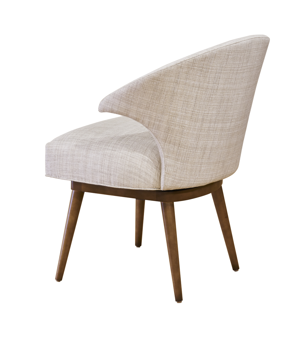 Designmaster Furniture - Lynden Semi-Arm Chair