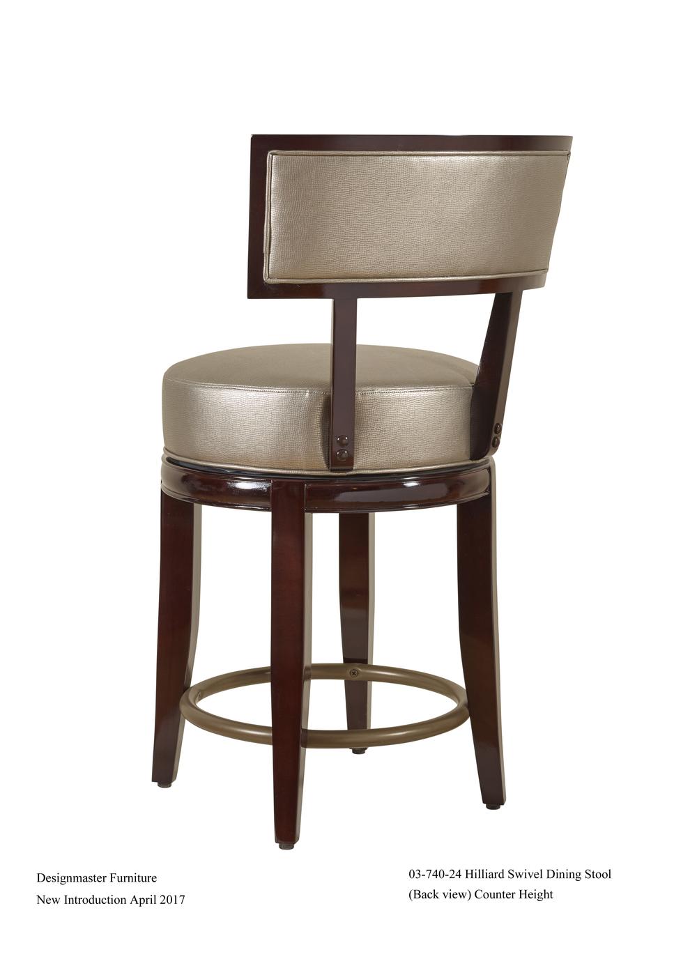 Designmaster Furniture - Hilliard Counter Stool