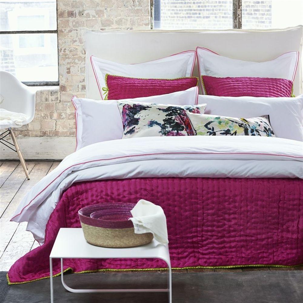 Designers Guild - Astor Peony & Pink Euro Sham