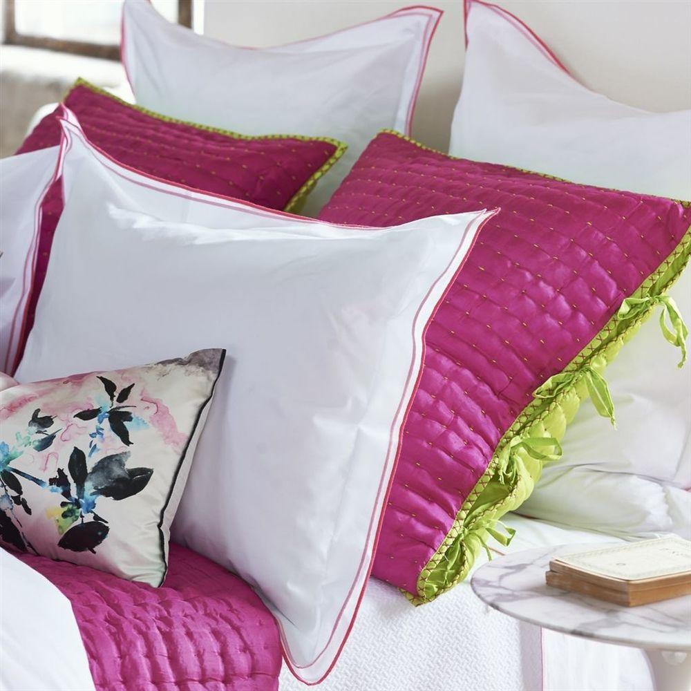 Designers Guild - Astor Peony & Pink Queen Flat Sheet