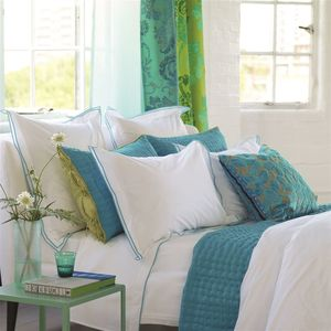 Thumbnail of Designers Guild - Astor Jade Queen Pillowcase