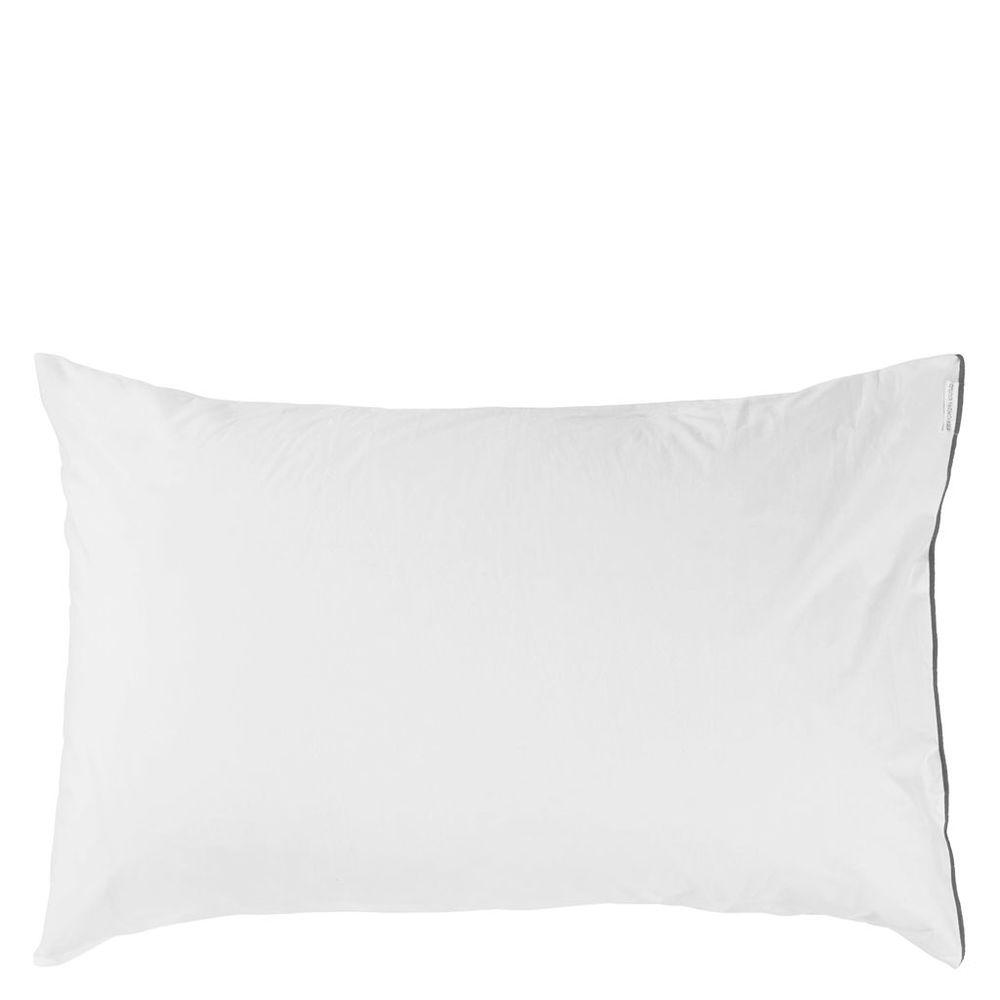 Designers Guild - Astor Charcoal & Dove Queen Pillowcase