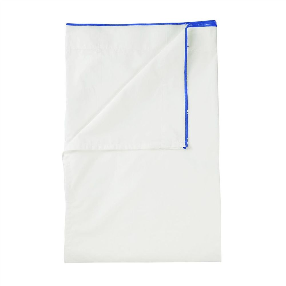 Designers Guild - Astor Cobalt King Flat Sheet