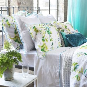 Thumbnail of Designers Guild - Astor Jade King Flat Sheet