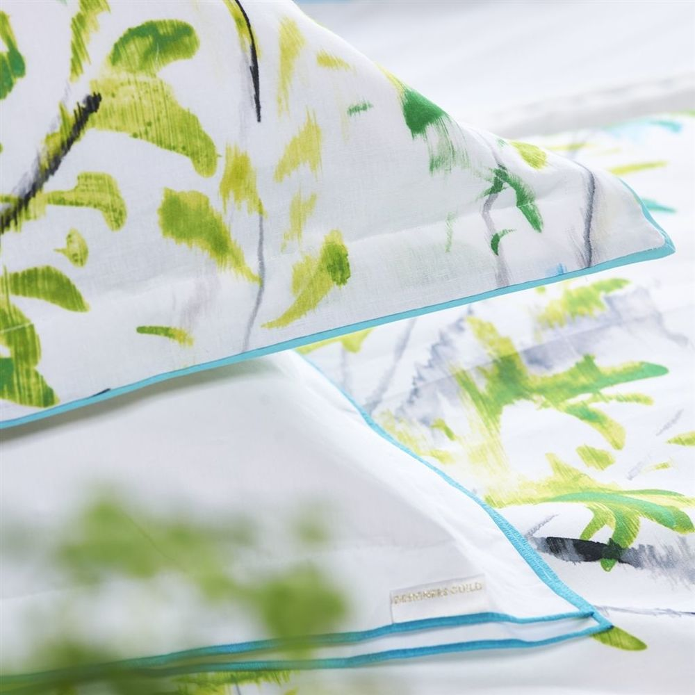 Designers Guild - Astor Jade King Flat Sheet