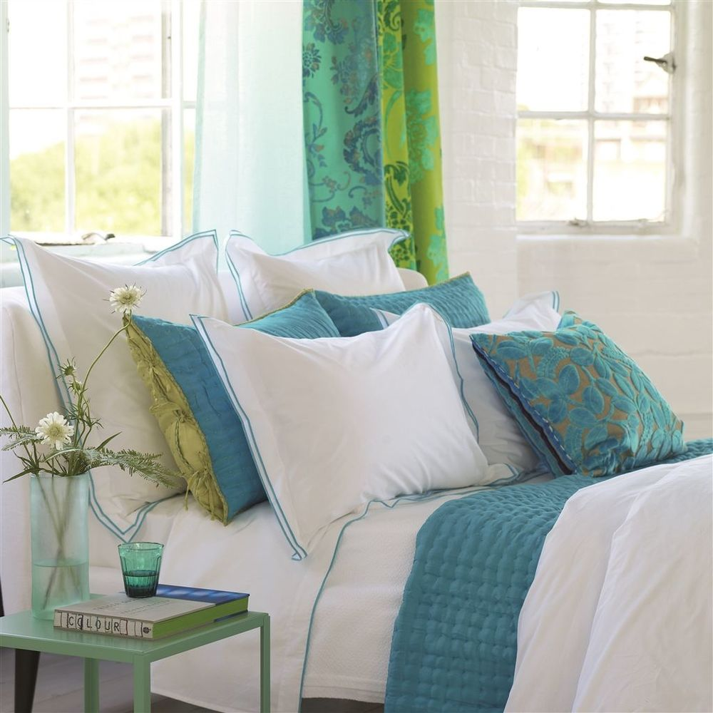 Designers Guild - Astor Jade Standard Pillowcase
