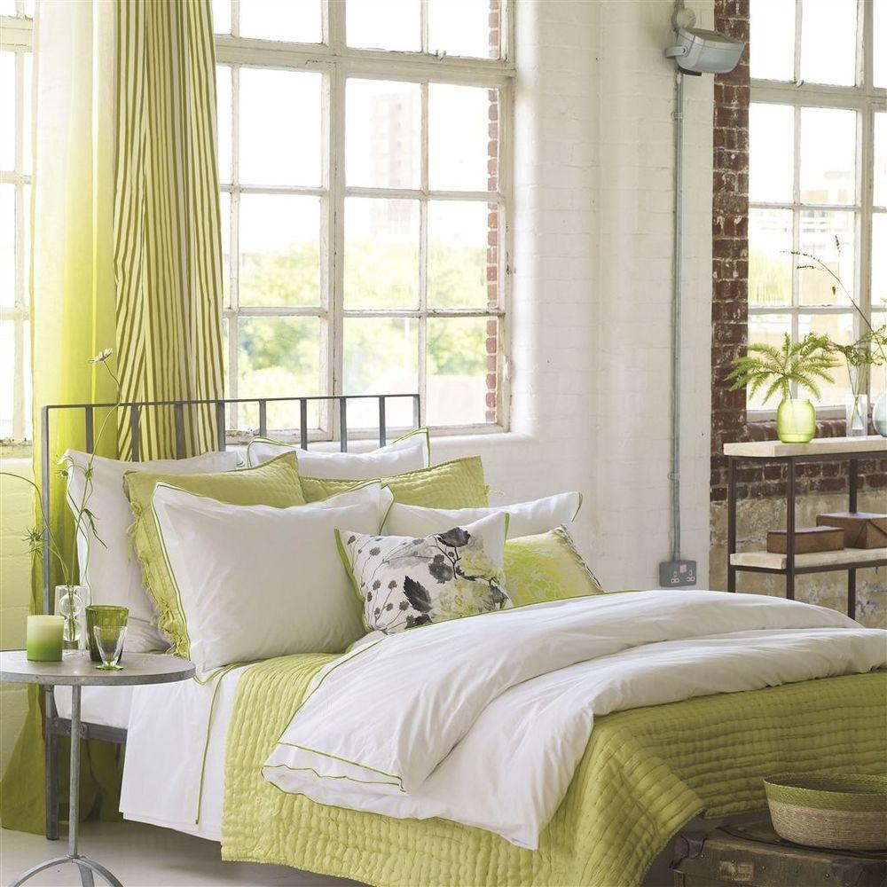 Designers Guild - Astor Moss King Flat Sheet