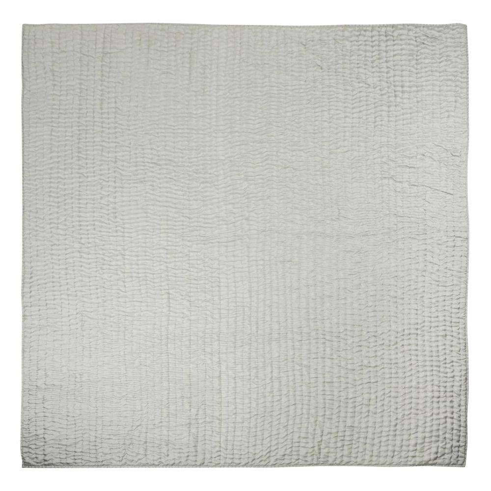 Designers Guild - Chenevard Pebble & Duck Egg Standard Quilt