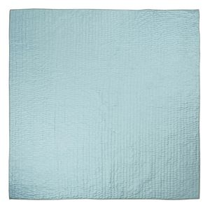 Thumbnail of Designers Guild - Chenevard Pebble & Duck Egg Standard Quilt