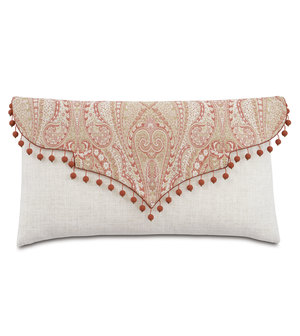Thumbnail of Eastern Accents - Rena Carnation Envelope Pillow
