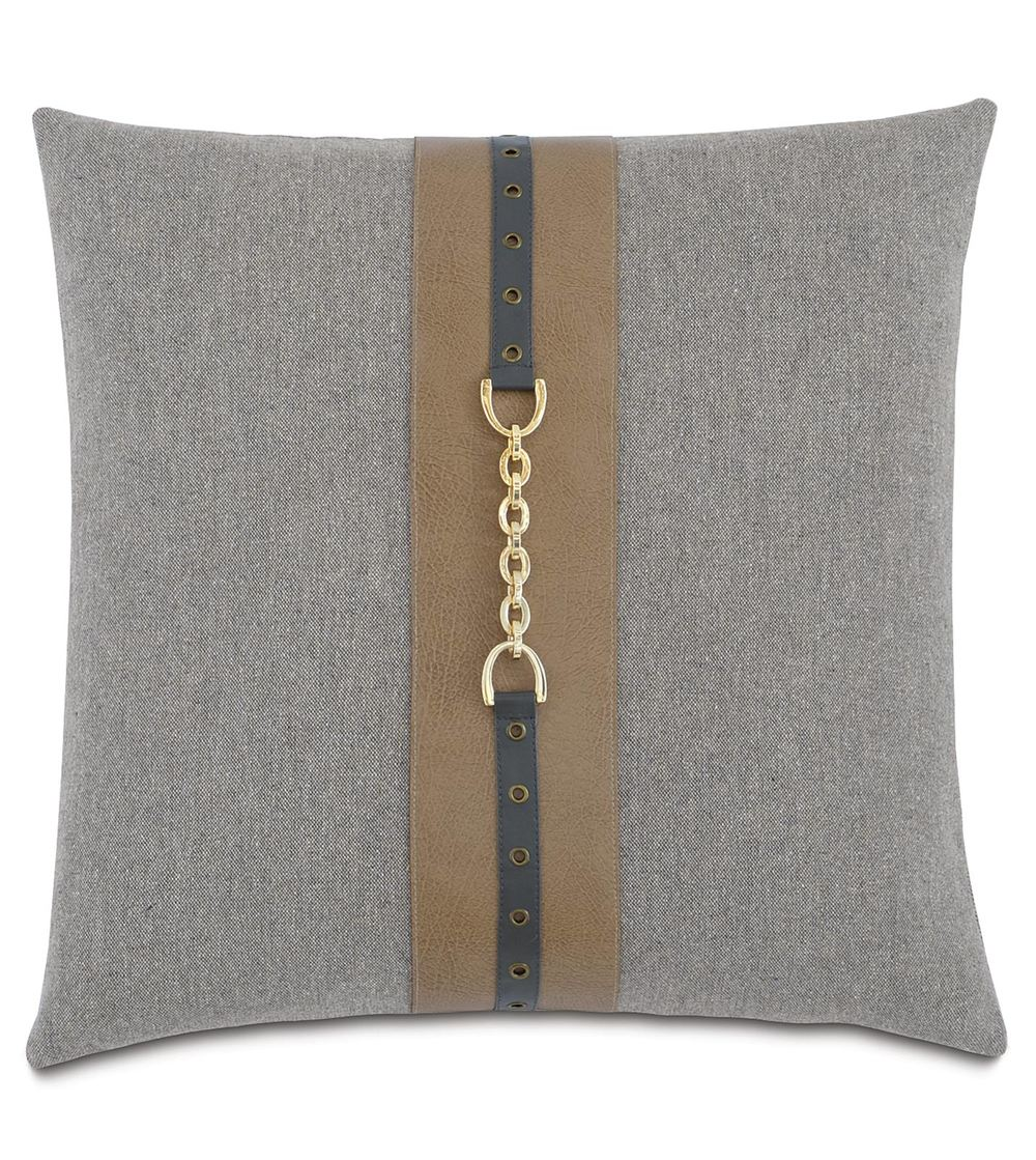 Eastern Accents - Brigid Stone Pillow with Insert