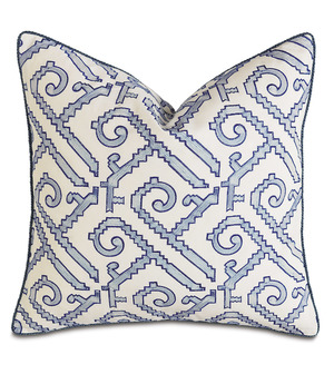 Thumbnail of Eastern Accents - Indigo Decorative Pillow