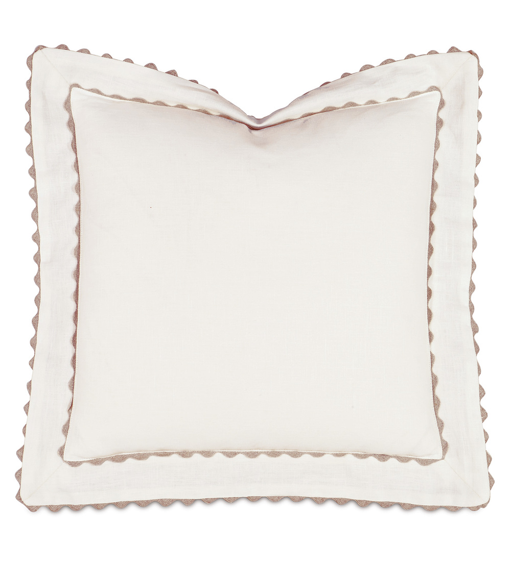Eastern Accents - Breeze Shell Pillow with Mitered Flange