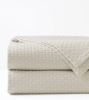Thumbnail of Eastern Accents - Tegan Ivory Coverlet