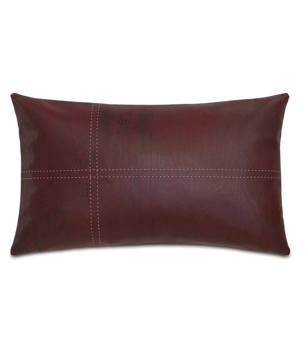 Eastern Accents - Dorian Brick Pillow with Tailor Tacks