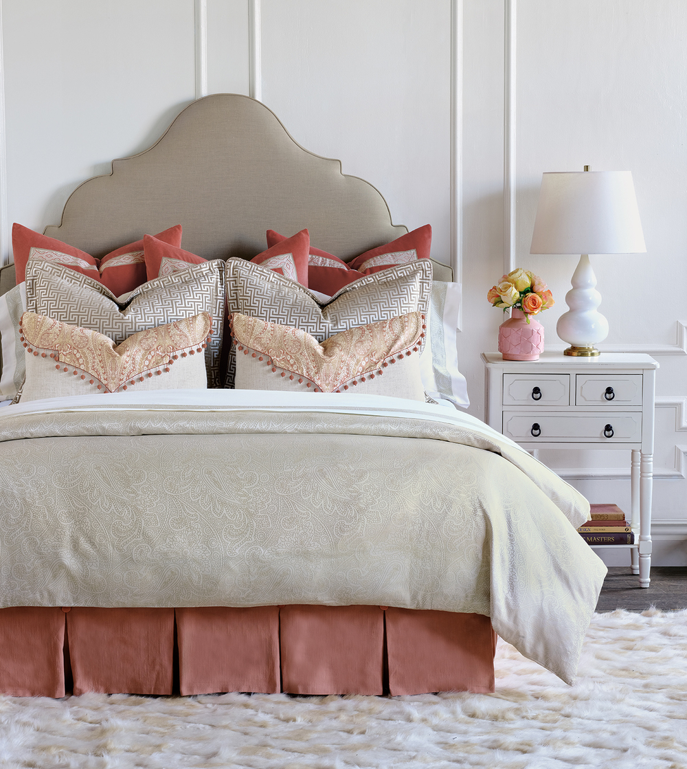 Eastern Accents - Lunetta Pearl Duvet Cover