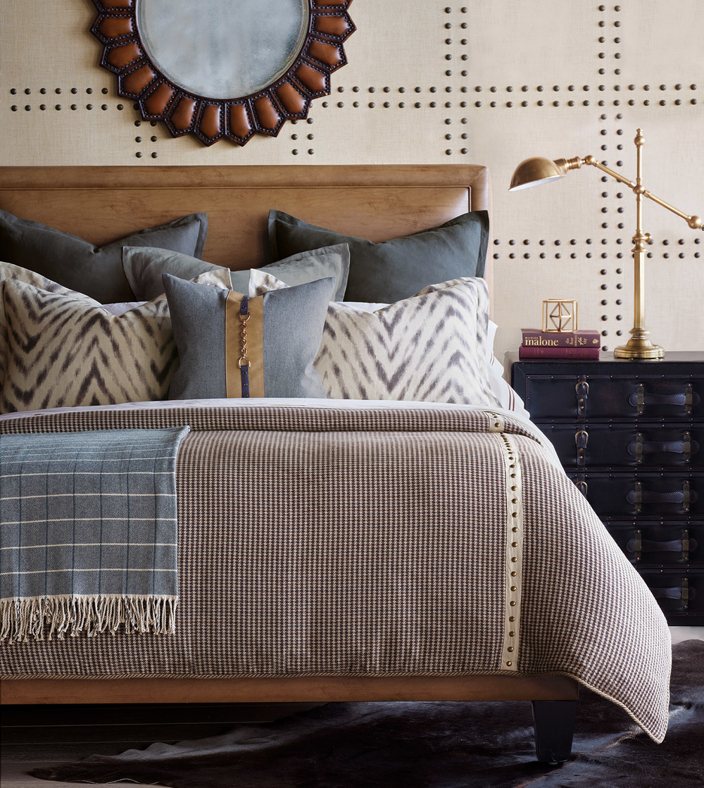 Eastern Accents - Shiloh Cement Euro Sham