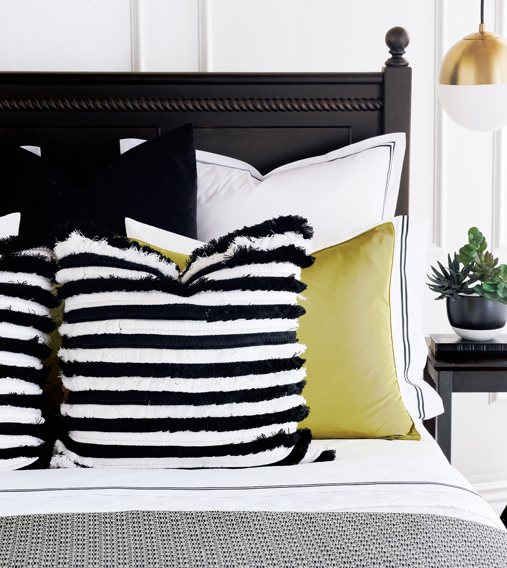 Eastern Accents - Freda Chartreuse Sham