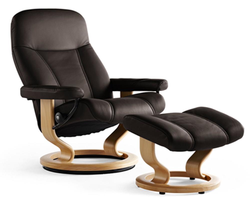 Ekornes - Consul Large Chair