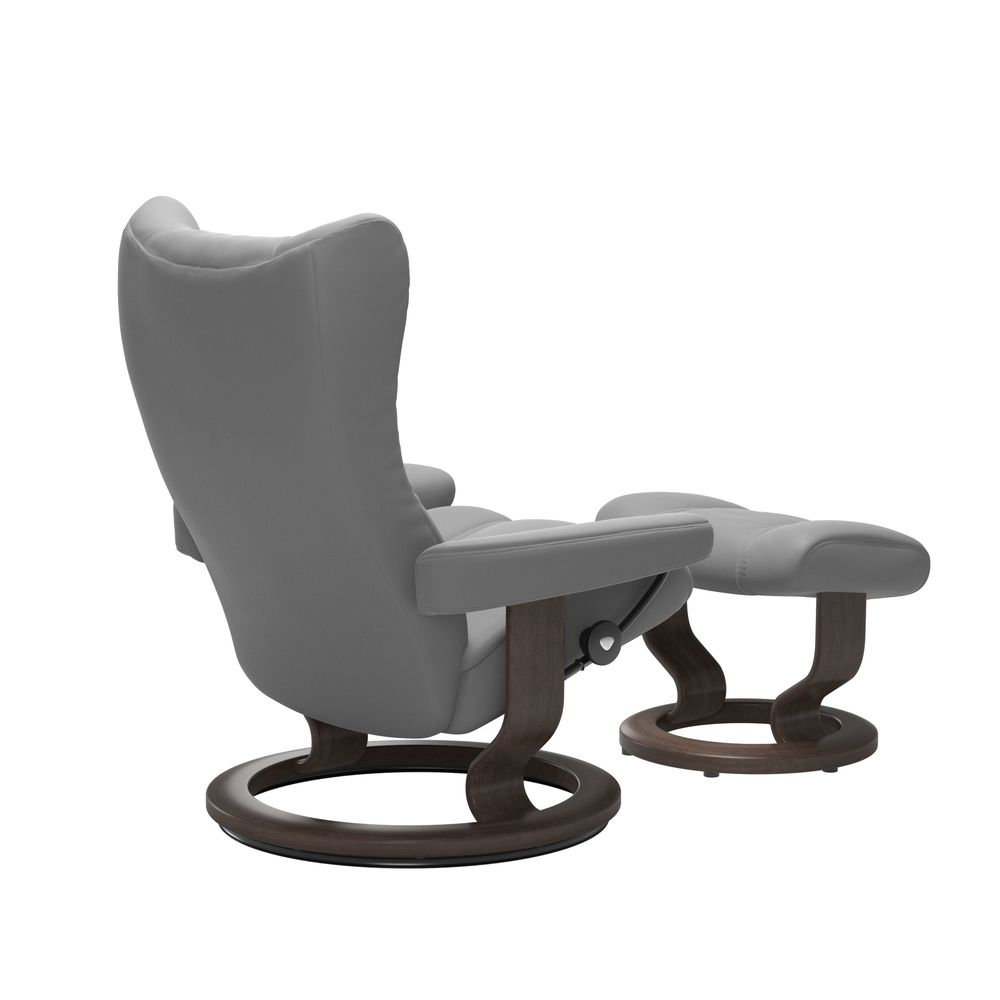 Ekornes - Wing Small Chair and Ottoman