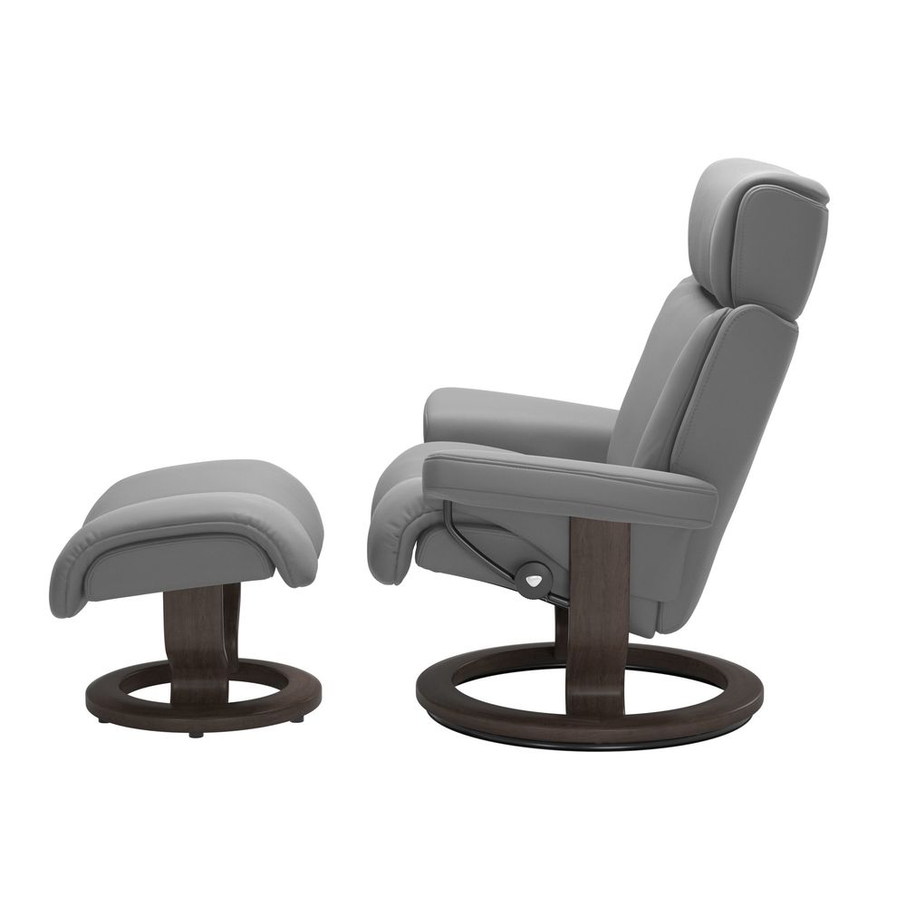 Ekornes - Magic Large Chair and Ottoman