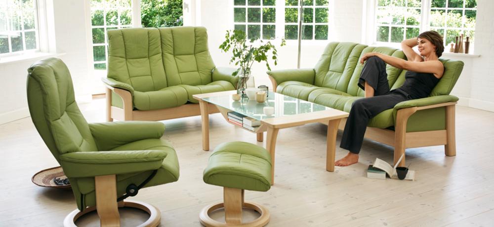 Ekornes - Windsor Chair, Low