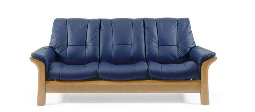 Ekornes - Windsor Three Seat, Low