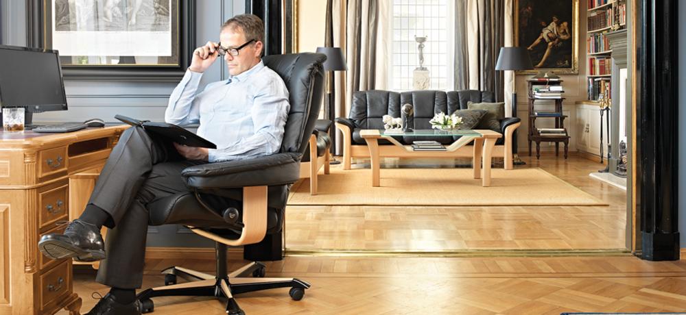 Ekornes - Mayfair Office Chair
