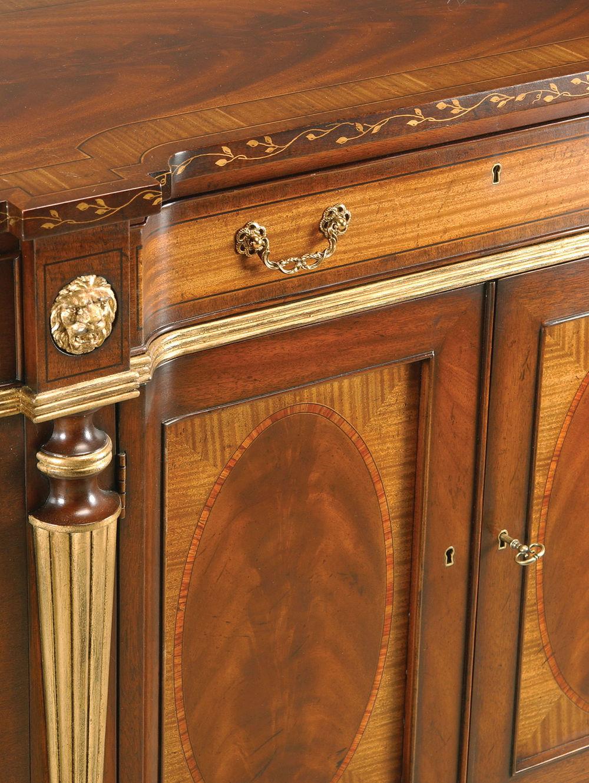 EJ Victor - Sideboard w/ Panel Doors