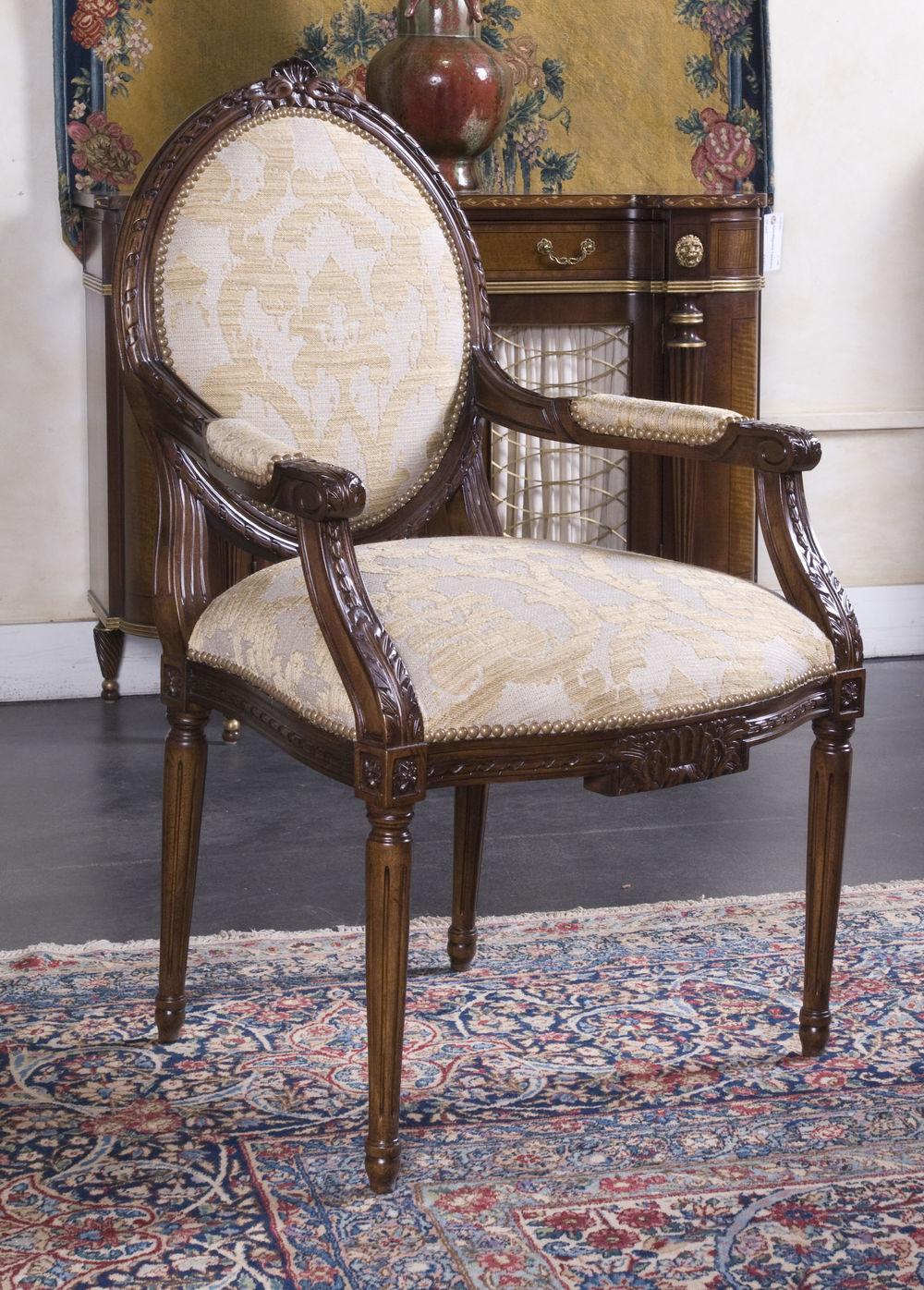 EJ Victor - Clignancourt Dining Arm Chair