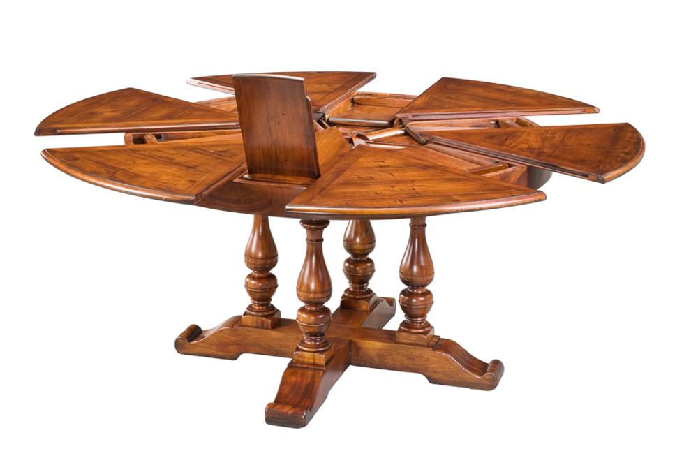 Encore - Walnut Jupe Dining Table, Medium
