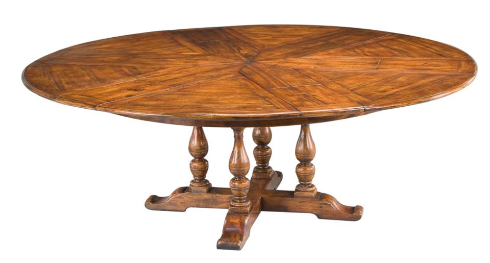 Encore - Walnut Jupe Dining Table, Extra Large