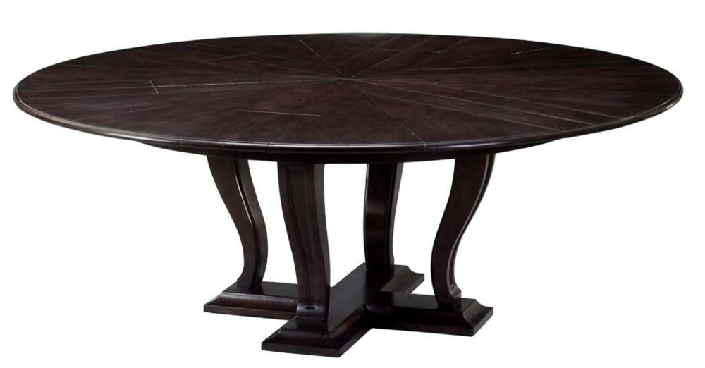 Encore - Metropolitan Jupe Dining Table, Medium, Umbria