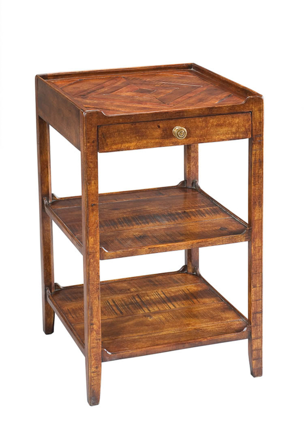 Encore - Triple Shelf Occasional Table